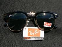 Ochelari de soare ray ban clubmaster-lentila sticla black
