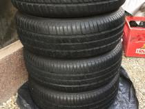 Set anvelope (4 buc),195/65/R15 și Jante 4x100  pt. Opel