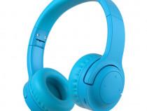 Casti wireless PICUN pentru copii cu microfon - Albastru