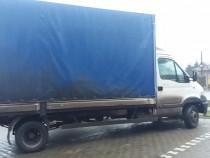 Iveco  daily- Lada cu prelata 6.2m.