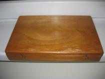 6085- I-Caseta Diafilme lemn.