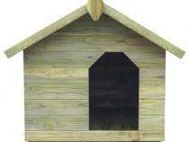 Cușcă câine grădină, acoperiș detașabil, 45150