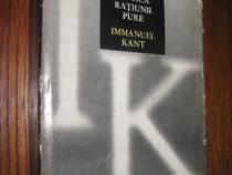 7881-I- IM. Kant- Critica ratiunii pure.