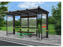 Statie autobuz/adapost calatori/refugiu calatori