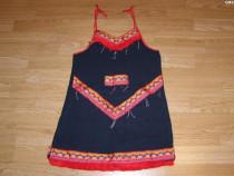 Costum de carnaval serbare rochie pentru copii de 9-10 ani