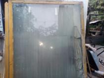 Geam în ramă de lemn,geamuri pentru termopane.