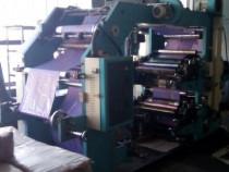 Imprimanta Flexografica cu 4 culori, latime 600 mm