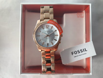 Fossil Smartwatch Hybrid gold dama