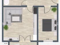 Proprietar Apartament 2020 2 camere Giroc sud vest parcare