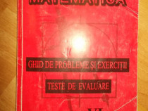 Matematica - ghid de probleme si execitii; Teste evaluare