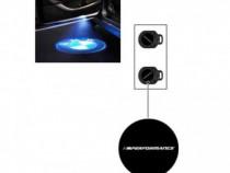 Lumini de intrare LED originale BMW, set logo M Performance