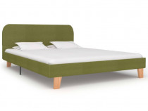 Cadru de pat, verde, 140 x 200 cm, material 280883