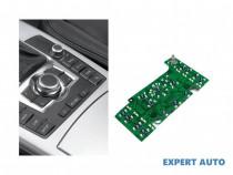 Comanda navigatie placa Audi Q7 (2006->) [4L] 4F1919600Q