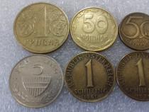 Monezi Ucraina-Austria-Polonia-Iugoslavia 1949-2001