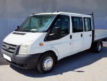 Ford Transit cabina tripla 9 locuri si bena - rate, TVA
