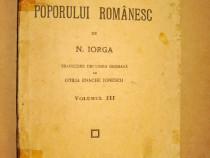 B247-N. Iorga-Istoria poporului romanesc 1927- Manual Scolar