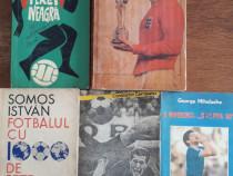 Lot 5 carti despre fotbal - Mihalache, Teasca, Cernaianu,...