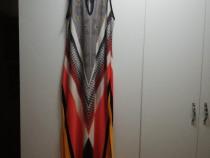 Rochie lunga, multicolora NOUA