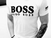 Tricouri bumbac Hugo Boss,logo carifea,super model(L si CL)