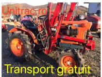 Tractor tractoras japonez kubota cu incarcator frontal