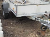 Remorca Westfalia, 1200 kg, sistem de franare