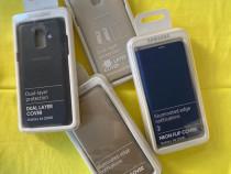 Husa Originala Samsung A6 A8 2018 A600 A530 Neon Flip Cover