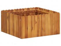 Jardinieră de grădină, 50 x 50 x 25 cm, lemn 45921