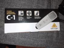 Microfon studio condenser Behringer C1 XLR condensator
