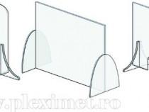 Paravan protectie din plexiglas incolor
