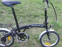 "Bicicleta 16"" pliabila unisex BORN2RIDE"