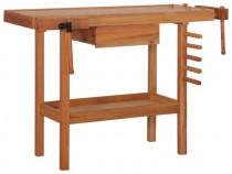 Banc de lucru tâmplărie cu sertar, 2 menghine, 143339