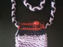 Poseta NOUA tricotata manual in Maramures