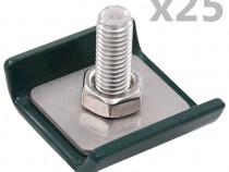 Conector grilaj din plasă, verde, 144499