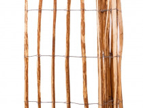 Gard din șipci, 120 x 250 cm, lemn de alun 43138