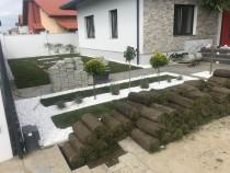Rulouri de gazon Servicii profesionale de gradinarit