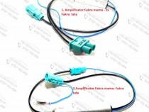 Amplificator semnal radio FM/AM conector Fakra