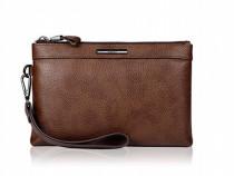 Geanta piele clutch wallet, calatorit, business, Pabojoe
