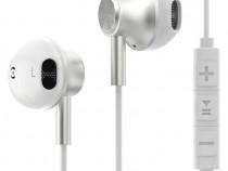 Casti Esorio, iOS Android, in-ear, alb, control volum