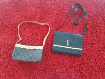 Geanta Ives Saint Lauren si Louis Vuitton