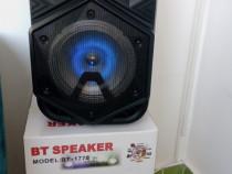 Boxa portabila multimedia,Karaoke,Bluetooh cu acumulator inc