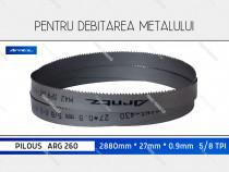 Panza 2880x27x5/8 fierastrau metal PILOUS ARG 260 banzic