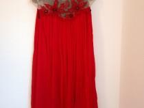 Rochie mătase naturală