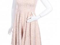 Rochie eleganta roz/nude