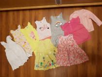 Lot haine fetita 18-24 luni