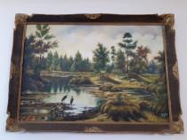 Tablou 78x107 cm, cu semnatura