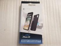 Husa spate magnetica Hama pentru iPhone XR, neagra - poze