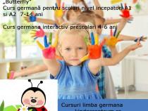 Cursuri limba germana pt. precolari 4-6 ani