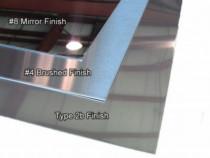 Tabla inox 3mm mata oglinda satinata scotchbrite striata
