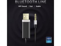 Bluedio bluetooth 4.1 cablu adaptor audio hifi 3,5mm jack/in