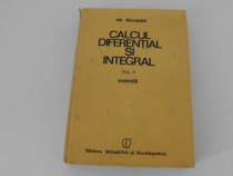 Siretchi calcul diferential si integral
